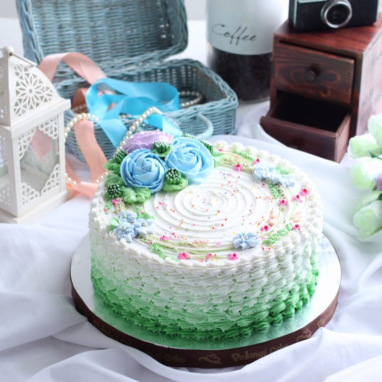 Birthday Cake PelangiCake